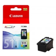 Canon ORIGINALE CANON CL-511 CARTUCCIA ORIGINALE PER CANON MP 240, MP 260, MP 480, MX 330, MX 320. CL511 2972B001 CAPACITA' 9ML