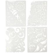 Artool Freehand Airbrush Templates, Son Of Skullmaster Mini Set