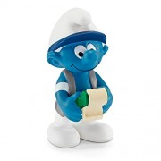 Schleich North America Accountant Smurf Toy Figure