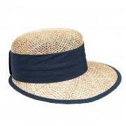 SEEBERGER SEEBEGER cappello visiera in paglia per donna