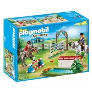 Playmobil Prova de cavalos 6930Multicolor- TAMANHO ÚNICO