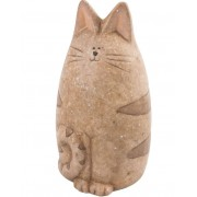 Kattfigur i Keramik 23 cm