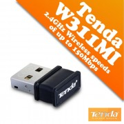 USB мрежови WIFI адаптер Tenda W311Mi