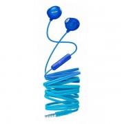 Casti audio Philips UpBeat SHE2305BL/00, intraauriculare, microfon incorporat, izolare fonica, lungime cablu 1,2m, Albastru