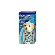 Medicamento Antipulgas e Carrapatos p/ cães e gatos Spray 100ml - Frontline