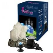 H2show Kristall dekorace s LED a vzduchovou tryskou - sada s krystalem, LED osvětlením a vzduchovou tryskou