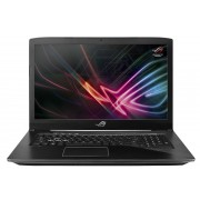 "ASUS ROG Strix GL703VM-EE059T 2.8GHz i7-7700HQ 17.3"" 1920 x 1080pixels Black Notebook"