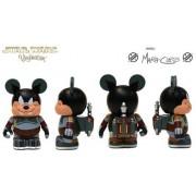 "Star Wars Characters Pete as Boba Fett Disney Vinylmation 3"" inch RARE LOOK"