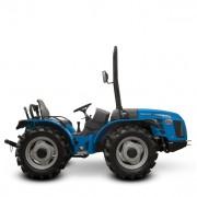 Tractor BCS VALLIANT 650 RS, roti viratoare, Motor Diesel VM D753 TE3 41.2 kw / 56 CP, blocaj diferential, ridicator hidraulic, servo directie
