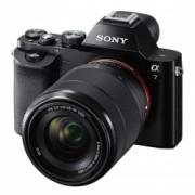 Sony A7 Aparat Foto Mirrorless 24MP Full Frame Full HD Kit cu Obiectiv 28-70 F/3.5-5.6 OSS