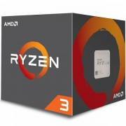 Procesor AMD Ryzen 3 4C/4T 1200 3.1/3.4GHz Boost,10MB,65W,AM4 box, with Wraith Stealth cooler
