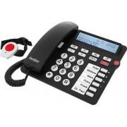 Tiptel 1081002 telefoon Analoge telefoon Zwart Nummerherkenning
