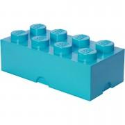 Lego Ladrillo de almacenamiento LEGO (8 espigas) - Azul azure