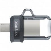SANDISK fleš Dual Drive USB Ultra 16GB m3.0 Grey&Silver