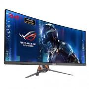 90LM02A0-B01370 ASUS ROG Swift pg348q 86,7 cm (34 inch) Curved Gaming monitor (uwqhd, DisplayPort, HDMI, USB 3.0, 5 ms responstijd, g-sync), kleur: PLASMA Copper + Armor Titanium