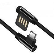 Micro USB-kabel laddare till Android Bekväm Utformning - Svart