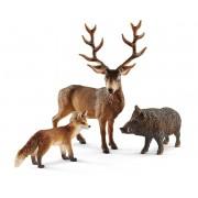 SET FIGURINE SCHLEICH - ANIMALE DIN PADURILE EUROPENE - SL41458 - SCHLEICH