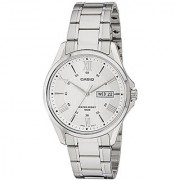 Casio Enticer Analog White Dial Mens Watch - Mtp-1384D-7Avdf (A880)