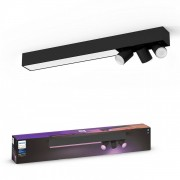 Philips Hue 50609/30/P7 LED stropní přisazený lustr Centris 3x5,7W+34W GU10 2000-6500K RGB - Bluetooth, inteligentní