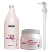 L`Oreal Professionnel Vitamino Color Sampon + Masca