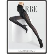 Gerbe Extravagant strumpbyxa med genomgående mönster Persienne noir 3