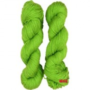 Vardhman Brilon Green 200 gm hand knitting Soft Acrylic yarn wool thread for Art & craft Crochet and needle