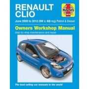 Renault Haynes Werkplaatshandboek Renault Clio benzine &: diesel (Jun 2009 - 2012)