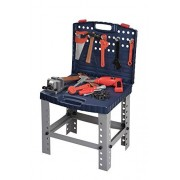 Toy Tool Set Workbench For Toddlers And Children Pretend Play- Kids Workshop Toolbench Building Toys - Kids Tools Playset With Realistic Tools And Electric Drill