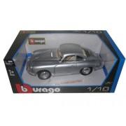 1961 Porsche 356 B Coupe Silver 1/18 By Bburago 12026