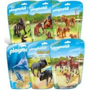 Playmobil Jouet Playmobil collection Le Zoo - Pack 6 sets d'animaux n°1