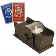 Merkloos Set kaarten schudmachine met hendel / 2 pakjes speelkaarten