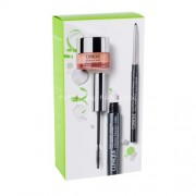 Clinique Life Of The Party Eyes Kit 6ml за Жени - спирала Lash Power 6 ml + молив за очи Quickliner For Eyes Intense 0,28 g Intense Ebony + околоочна грижа All About Eyes 5 ml Нюанс - 01 Black Onyx