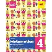 Exercitii si probleme de matematica. Clasa a IV-a include Portofoliu de evaluare al elevului