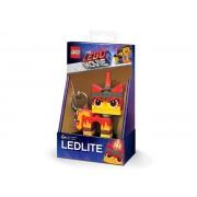 Breloc Cu Lanterna LEGO Movie 2 Angry Kitty (Lgl-Ke147)