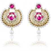Sukkhi Traditionally Gold Plated Chandbali Earring For Women