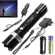 3 Mode Zoomable Rechargeable Waterproof 7W Ultra Bright LED Flashlight Torch Outdoor Lamp Emergency Light 900 LM