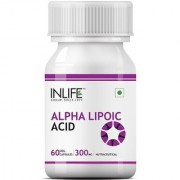 INLIFE Alpha Lipoic Acid 300 mg (60 Vegetarian Capsules)