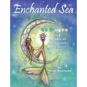 Enchanted Sea - Mermaid Coloring Book in Grayscale - Coloring Book for Grownups: A Mermaid Fantasy Coloring Book in Gray Scale by Molly Harrison, Paperback/Molly Harrison