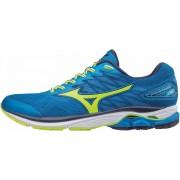 MIZUNO - obuv RUN WAVE RIDER 20 blue/yellow/peach Velikost: 45