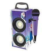 Lexibook Jégvarázs Bluetooth torony hangszóró mikrofonnal