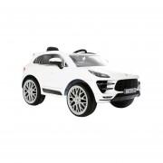 Camioneta Montable Porsche Macan 6V - Blanco