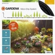 Gardena csepegtető öntöző indulókészlet növénysorokhoz S 15 m Gardena Micro-Drip-System (13010) (142