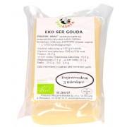 Ser Żółty Podpuszczkowy Gouda Bio (Ok. 0,30 Kg) - Eko Łukta