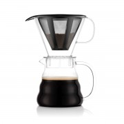 Bodum MELIOR® Cafetière, filtre permanent maille inox, 5 tasses, 0.6 l Transparent