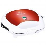 Moulinex SW6125 Break Time Sanduicheira Máquina de Waffles 700W Vermelho/Branco