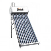 Panou solar nepresurizat cu boiler 180 litri Ferroli EcoSole JDL-TF18-58/1.8-SS