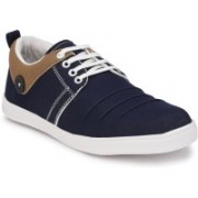BB LAA Bright Canvas Shoes For Men(Blue)
