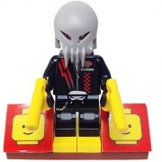 "Minifigure Packs: Lego Space Police Iii Bundle ""(1) Alien Skull Twin"" ""(1) Figure Display Base"" ""(2) Figure Accessorys (Pistols)"""