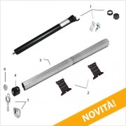 Rogiam Kit tapparelle elettriche completo con Motore tapparelle da 20 Nm/40kg (Kitmot20)