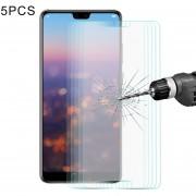 5 PCS Enkay Hat Príncipe Para Huawei P20 Pro 0.26mm 9h Dureza 2.5D Borde Curvado Tempered Glass Screen Film